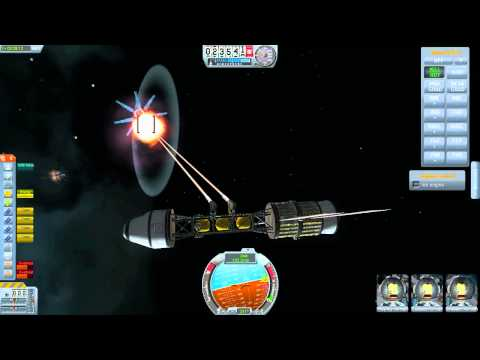 KSP - Space battle