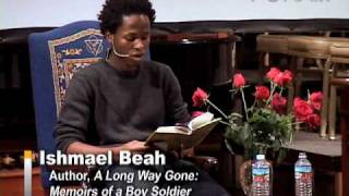"Ishmael Beah - Excerpt from ""A Long Way Gone"""
