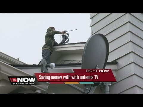Saving money with with antenna TV
