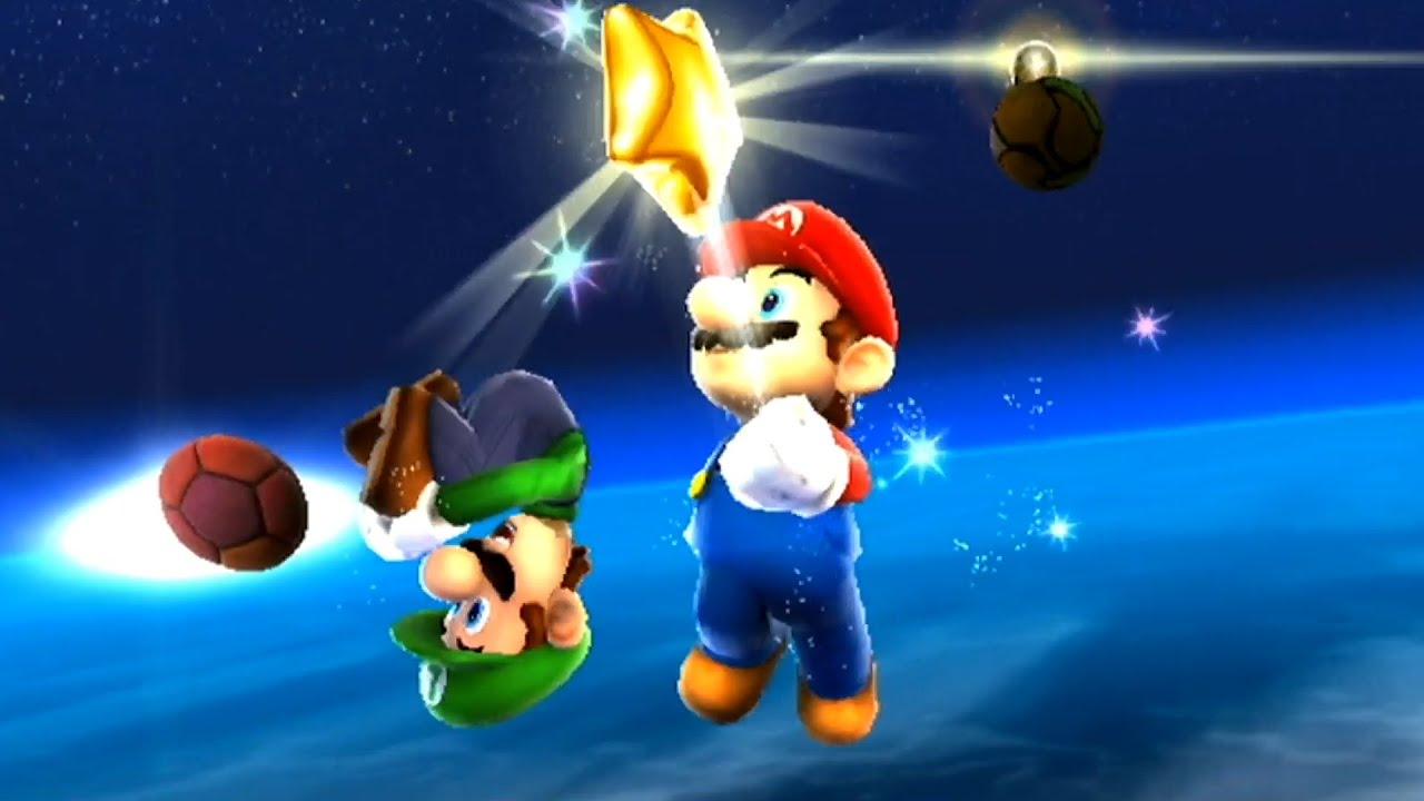 red mario galaxy stars - photo #30