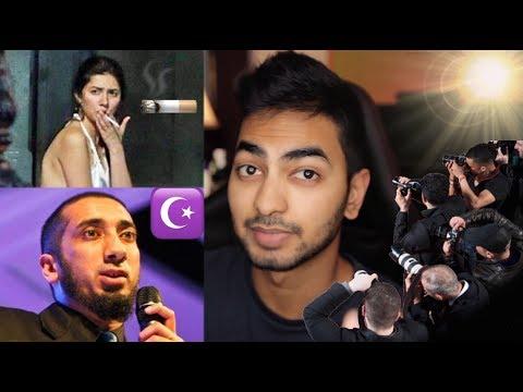 Nouman Ali Khan Accused  Mahira Khan Caught Smoking Pictures with Ranbir Kapoor Response  Spyran