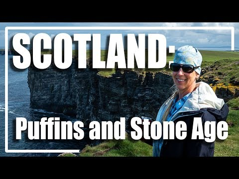 SCOTLAND - Orkney Puffins!, Skara Brae, And Cliffs - Neolithic Sites And Awesome Sea Birds - 3 Of 4