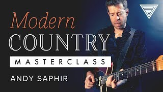New - Andy Saphir's Modern Country Masterclass | JamTrackCentral.com