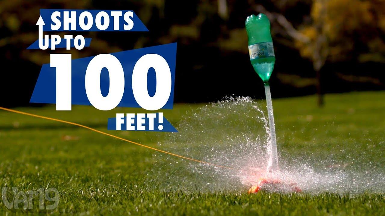 AquaPod Water Bottle Rocket - YouTube