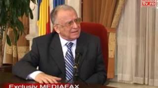 Interviu MEDIAFAX   Iliescu I   Inca 20 de ani pana cand Romania va fi echivalenta cu media Europei dezvoltate