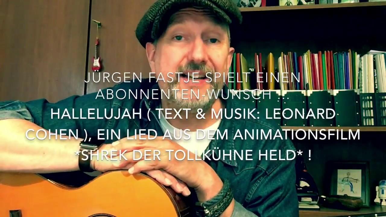 Hallelujah ( Text & Musik: Leonard Cohen ), hier interpretiert von ...