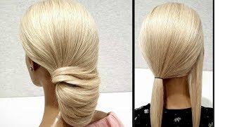Идеальная быстрая прическа из резинок.Пошагово!The perfect fast hairstyle made of elastic bands.