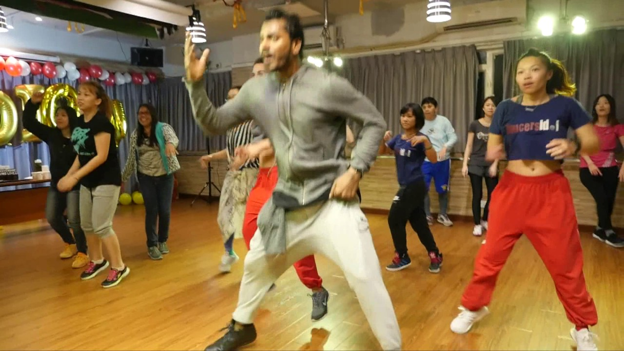 VK Bollywood Dance Class Promo video 2017