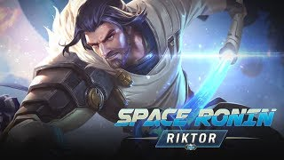 Riktor New Skin: Space Ronin