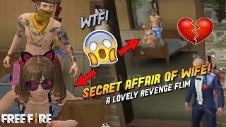 Short Film!! A lovely💔Revenge Film- Secret Affair Of Wife Free Fire- PVS GAMING [ENGLISH SUB TITLE]