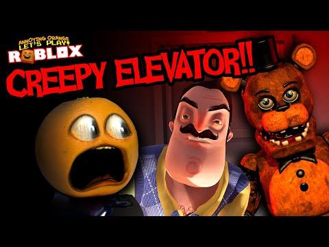 CREEPY ELEVATOR!!! (Annoying Orange Roblox)