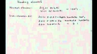 Mod-01 Lec-38 Miscellaneous topics: Electric Resistance Heating