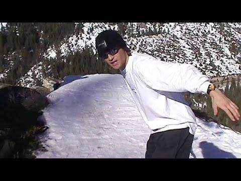 Shane McConkey's First Ski BASE Jump at Lover's Leap | McConkey