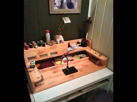 How I Made My Fly Tying Station In 4 Minutes 46 Seconds