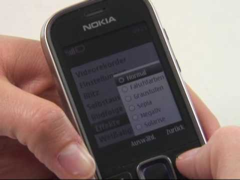 Nokia 3720 classic Test Kamera