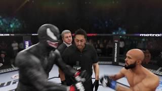 Venom vs. Demetrios Johnson (EA sports UFC 3) - CPU vs. CPU