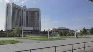 "Full HD. Ukraine. Vinnytsia city. New tram T4UA ""VinWay"" No.109 on ..."