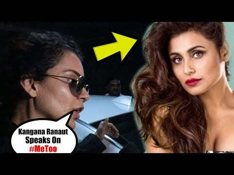 Kangana Ranaut Reaction on Rani Mukherji Controversy Statement on MeeT00