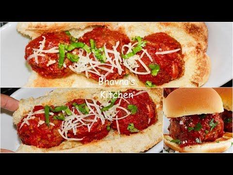 Vegetarian Meatballs Sliders Video Recipe   Bhavna's Kitchen