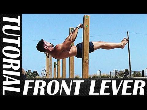 TUTORIAL DE FRONT LEVER - Cómo sacar el Front Lever con sólo 6 ejercicios