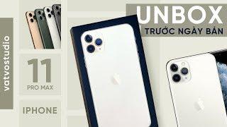 Mở hộp iPhone 11 Pro Max: 3 Camera ấn tượng, giá 30 triệu