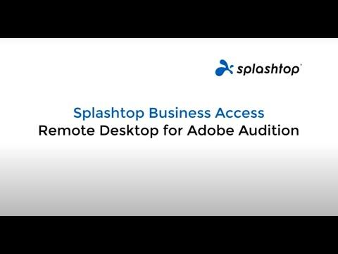 Remote Desktop for Video Editing Software