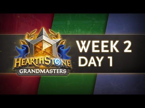Hearthstone Grandmasters Season 1 - Week 2 Day 1