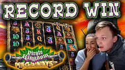 RECORD WIN on new slot Pirate Kingdom Megaways - INSANE Bonus Buy - Must see!