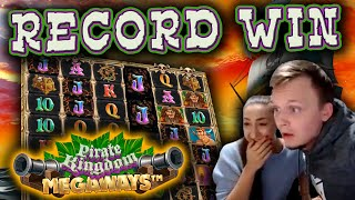 RECORD WIN on new slot Pirate Kingdom Megaways - INSANE Bonus Buy - Must see!