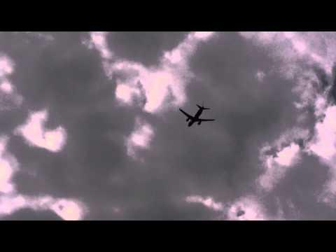 Sukhoi superjet 100 departing Farnborough Airport