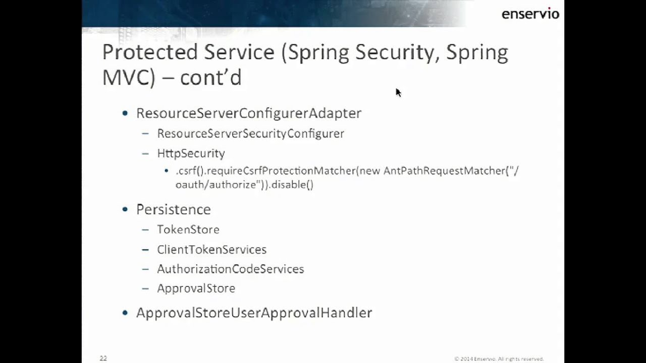 Retrofitting OAuth 2 0 Security into Existing REST Services