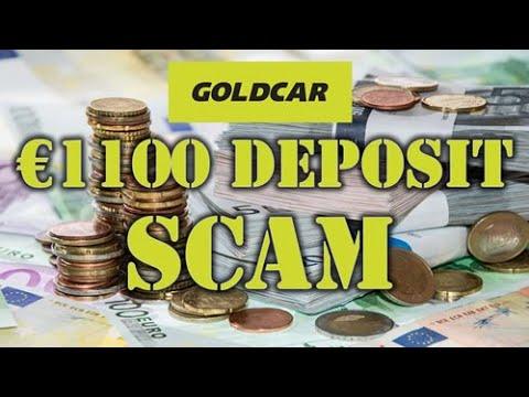 Rental Car Scam - Goldcar: The Deposit Rip-Off