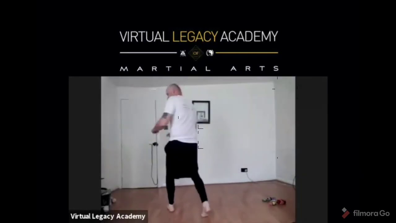Martial arts: Mastery of footwork at home