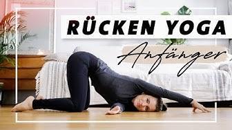 Yoga Rücken Anfänger Programm   Übungen gegen Verspannungen und Rückenschmerzen