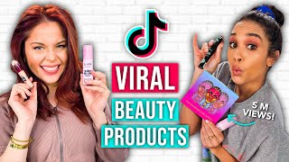 Is Viral TikTok Makeup Worth the Hype?! [NYX, e.l.f. & MORE!]
