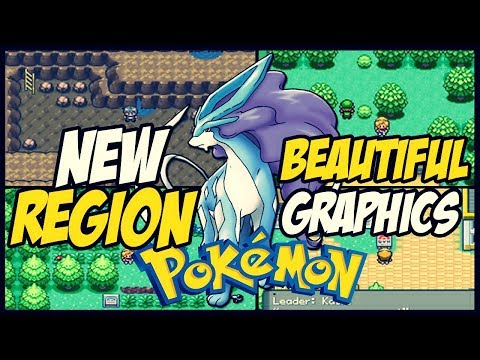 Completed Pokemon Gba Rom Hack With New Region,New Story,Beautiful Graphics And More!