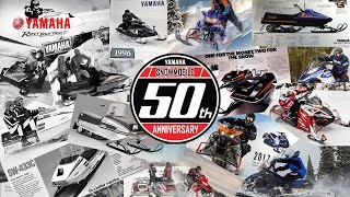 50 Years of Yamaha Snowmobiles
