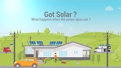 Got Solar? What happens when the power goes out?