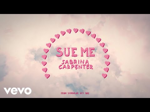 Sabrina Carpenter - Sue Me (Visualizer Video)