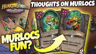 Firebat's Thoughts on MURLOCS in Battlegrounds | Hearthstone