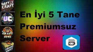 Minecraft -En iyi Premiumsuz serverler