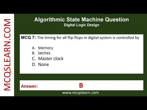 Algorithmic State Machine Question - MCQsLearn Free Videos