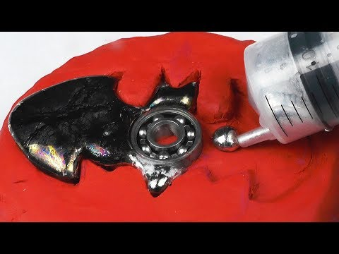 DIY BATMAN Gallium Fidget Spinner
