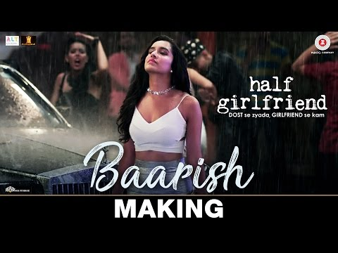 Thumbnail: Baarish - Making | Half Girlfriend | Arjun K & Shraddha K | Ash King & Shashaa Tirupati