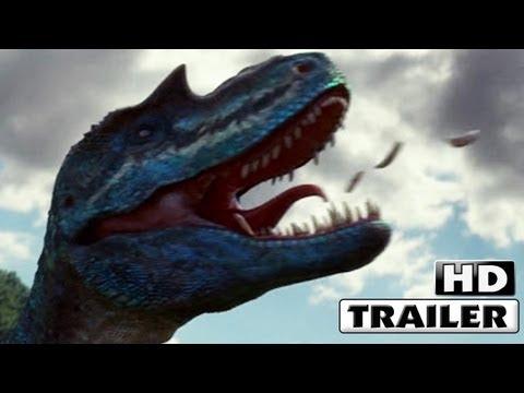 CAMINANDO ENTRE DINOSAURIOS 3D Trailer 2013 en español