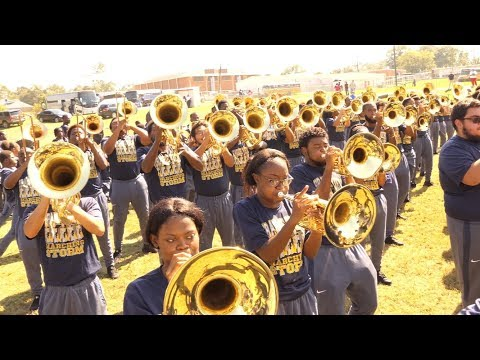 PVAMU Marching Storm performs for Prentiss City Schools in Mississippi (2017) [4K]