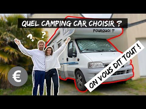 38. COMMENT CHOISIR SON CAMPING CAR ? ON VOUS DIT TOUT ! #VANLIFE #CONFINEMENT #CORONAVIRUS