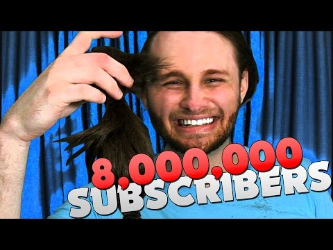 I FINALLY CUT MY HAIR!! 8,000,000 SUBSCRIBERS!!