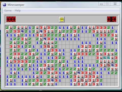 Winning Minesweeper in 10 seconds (Expert Mode)