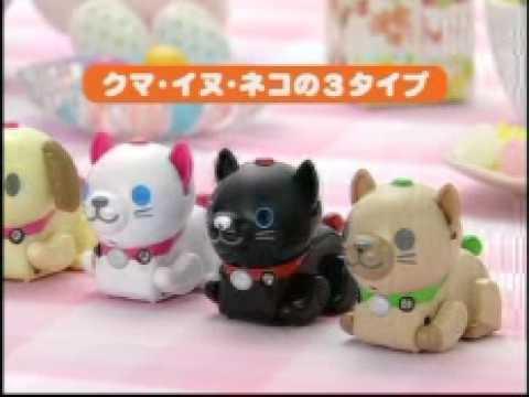 takara tomy micropets-i miniature robot pets: cute overkill